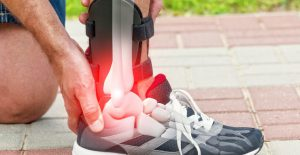 Chiropractor Sandton - Sore Ankle pain plantar fasciitis